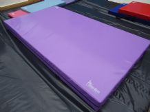 "8FT x 4FT 6"" x 8"" THICK (610gsm) Safety Matress Crash Mat (PURPLE)"
